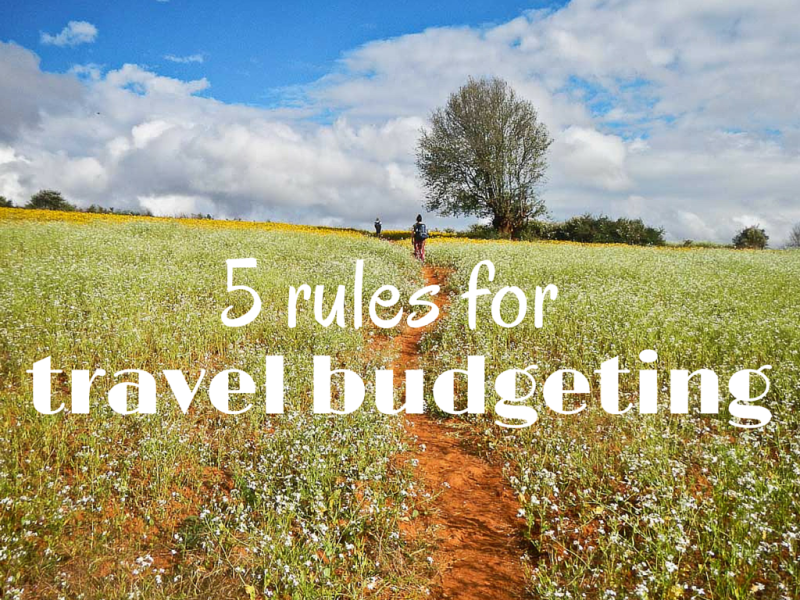 travel budgeting