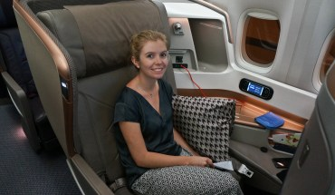 Singapore airlines business class upgrade