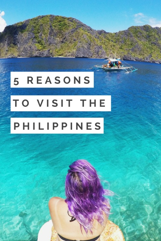 The Philippines mesmerizes tourist and locals alike with its beauty. Here are 5 reasons why you should visit the Philippines.