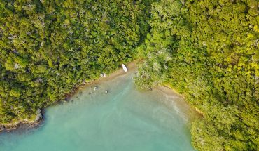 drone photography in new zealand