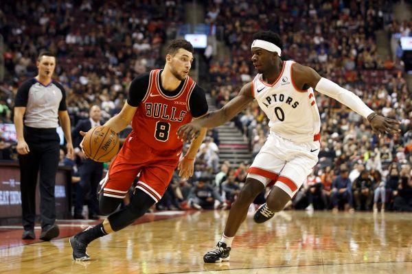 Nurse not worried after Bulls beat Raptors 105-91 after Toronto