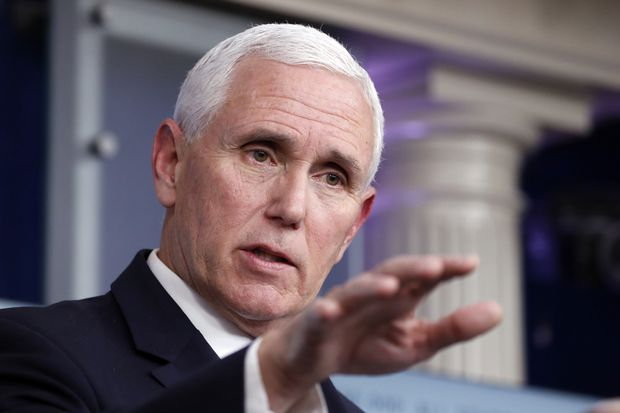 The latest global news on coronavirus: Pence says U.S. trajectory ...