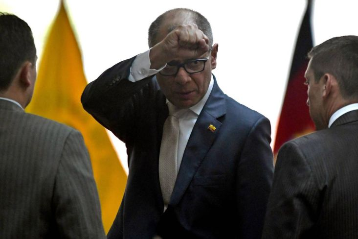 Image result for Jorge Glas receives six year sentence for graft