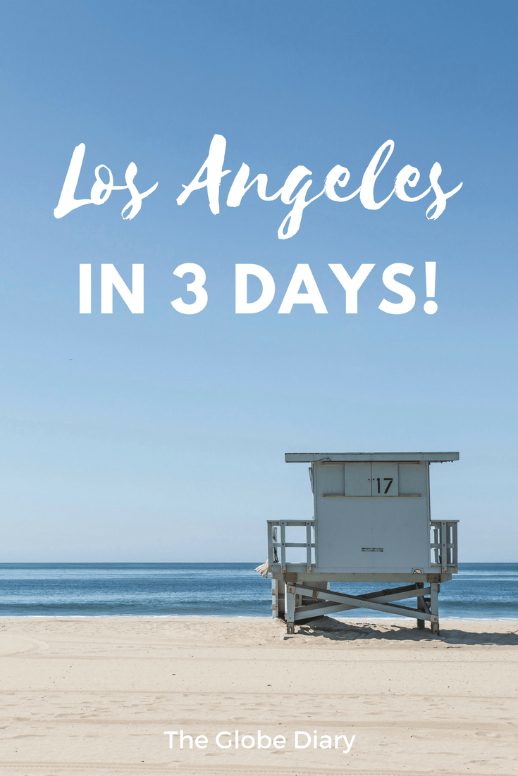 3 days in Los Angeles