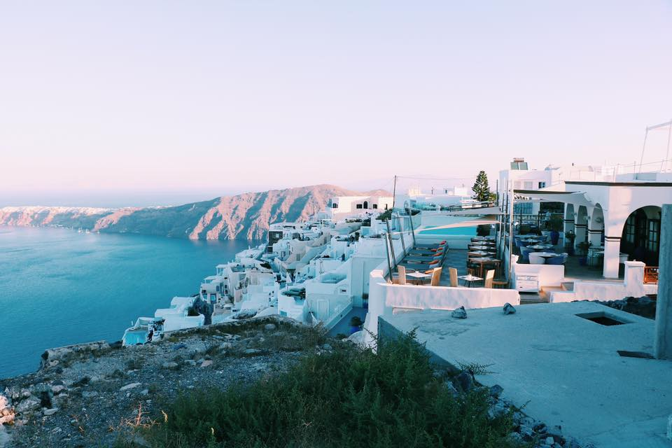 Travel Diary Santorini