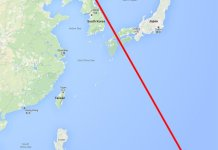 North Korea, Guam, strike