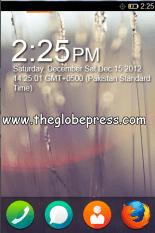 2 Firefox OS home screen