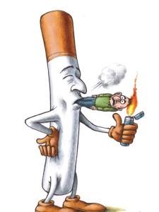 Cigarette Smoking A Human