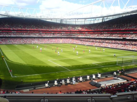 Top 10 Football Stadiums of the World Emirates Stadium