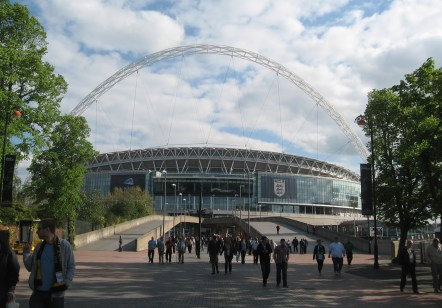 Top 10 Football Stadiums of the World Wembley Stadium