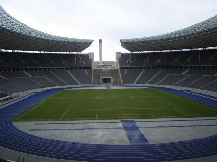 Top 10 Football Stadiums of the World berlin olympic stadium