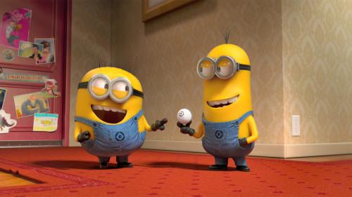 Cute Minions in Despicable me 2