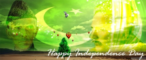 Pakistan's flags wallpapers for facebook covers for 14 august (2)