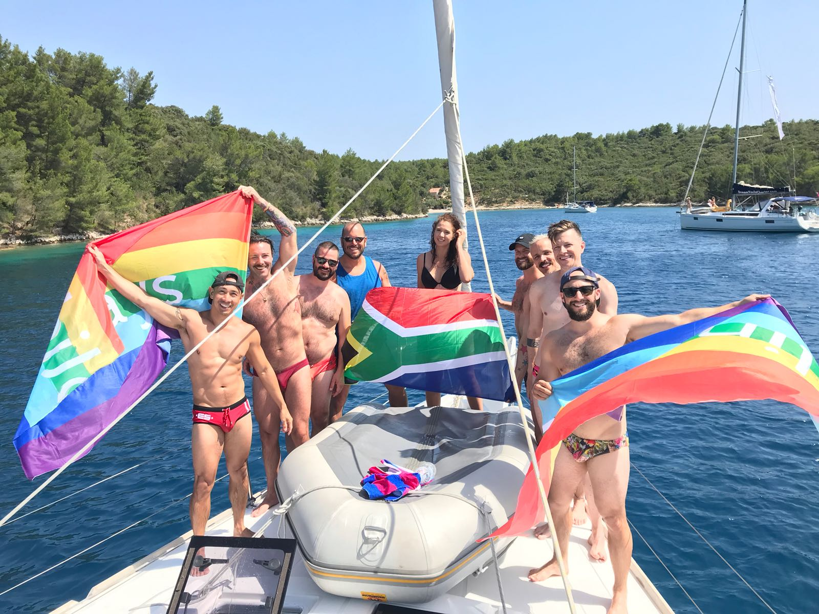 Gay Sailing Trip Mykonos