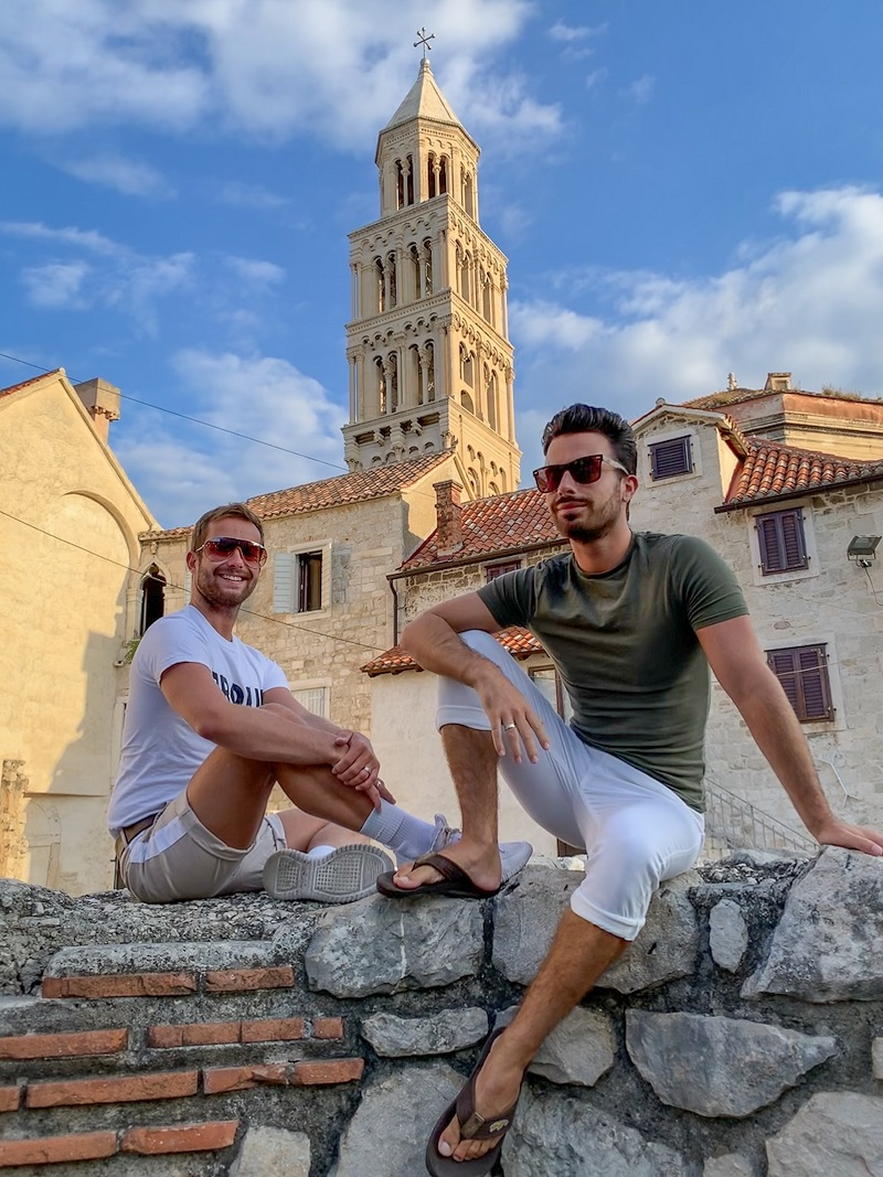gay split travel guide croatia old town