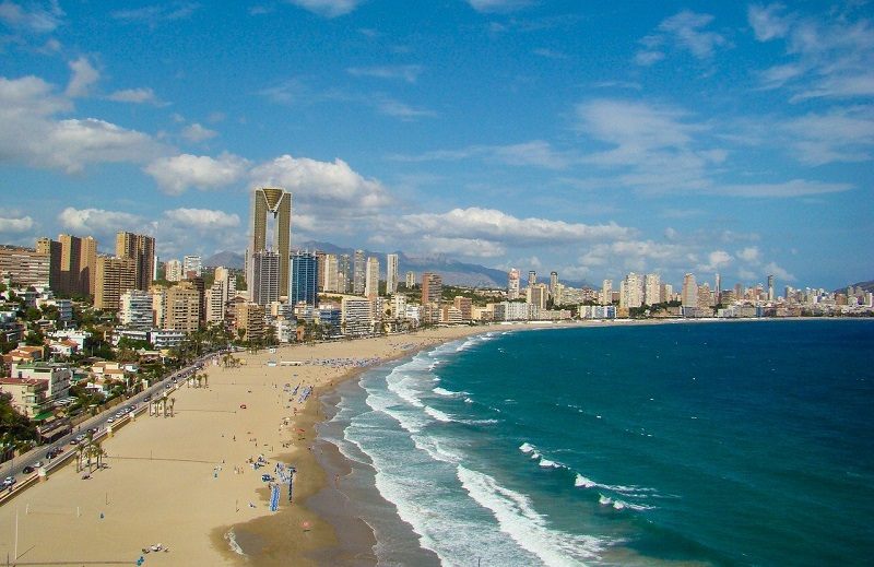 gay spain cities benidorm
