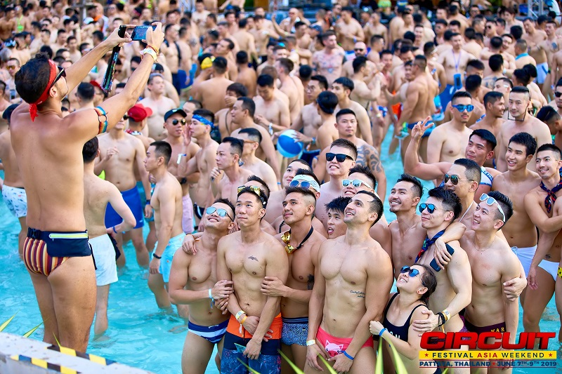 asia gay circuit party