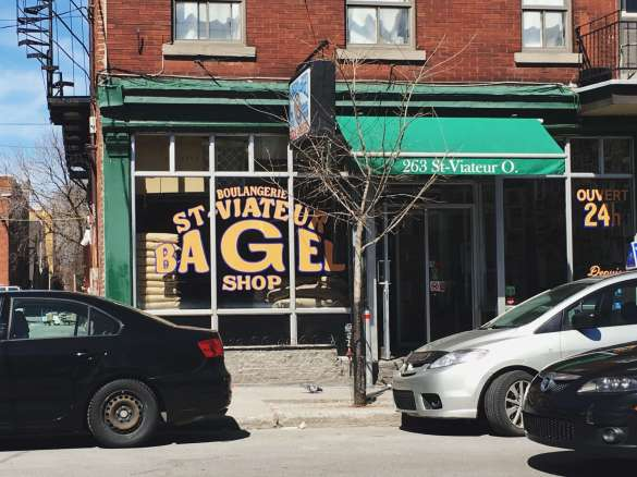 St-Viateur Bagel Shop in Montreal