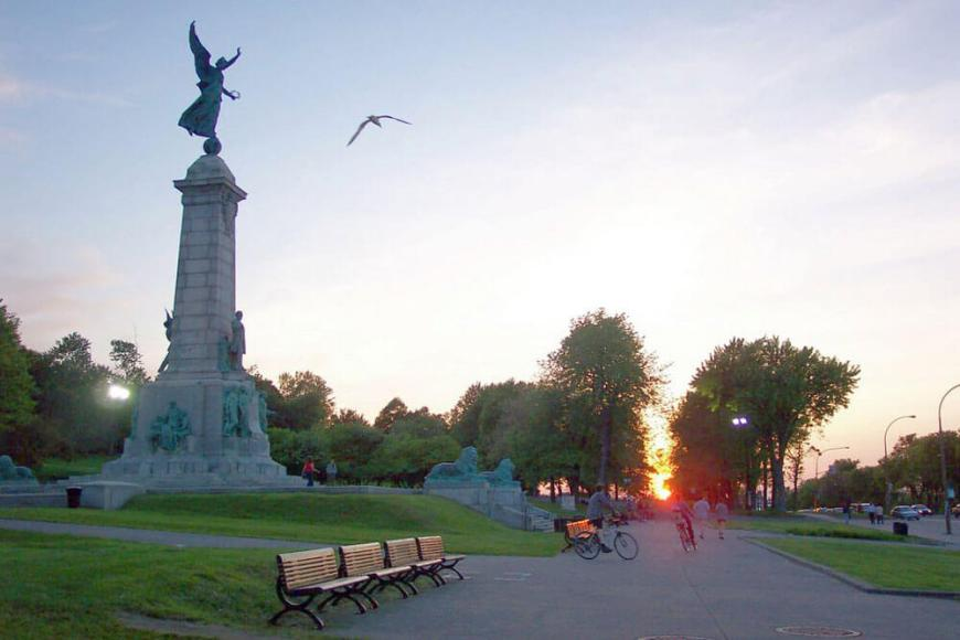Mont Royal in Montreal