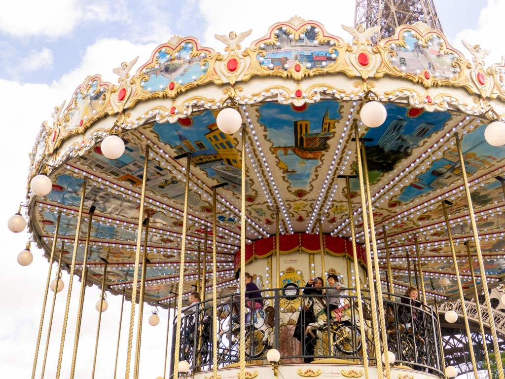 Carousel in Paris, France
