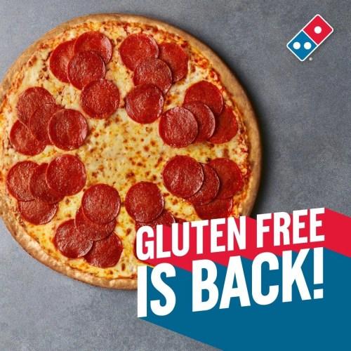 Gluten Free Domino's - Is Domino's Pizza Coeliac Safe?