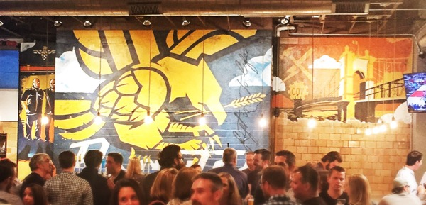 The Braxton Brewing Company's Mural