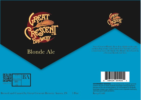 Great Crescent Blonde Ale