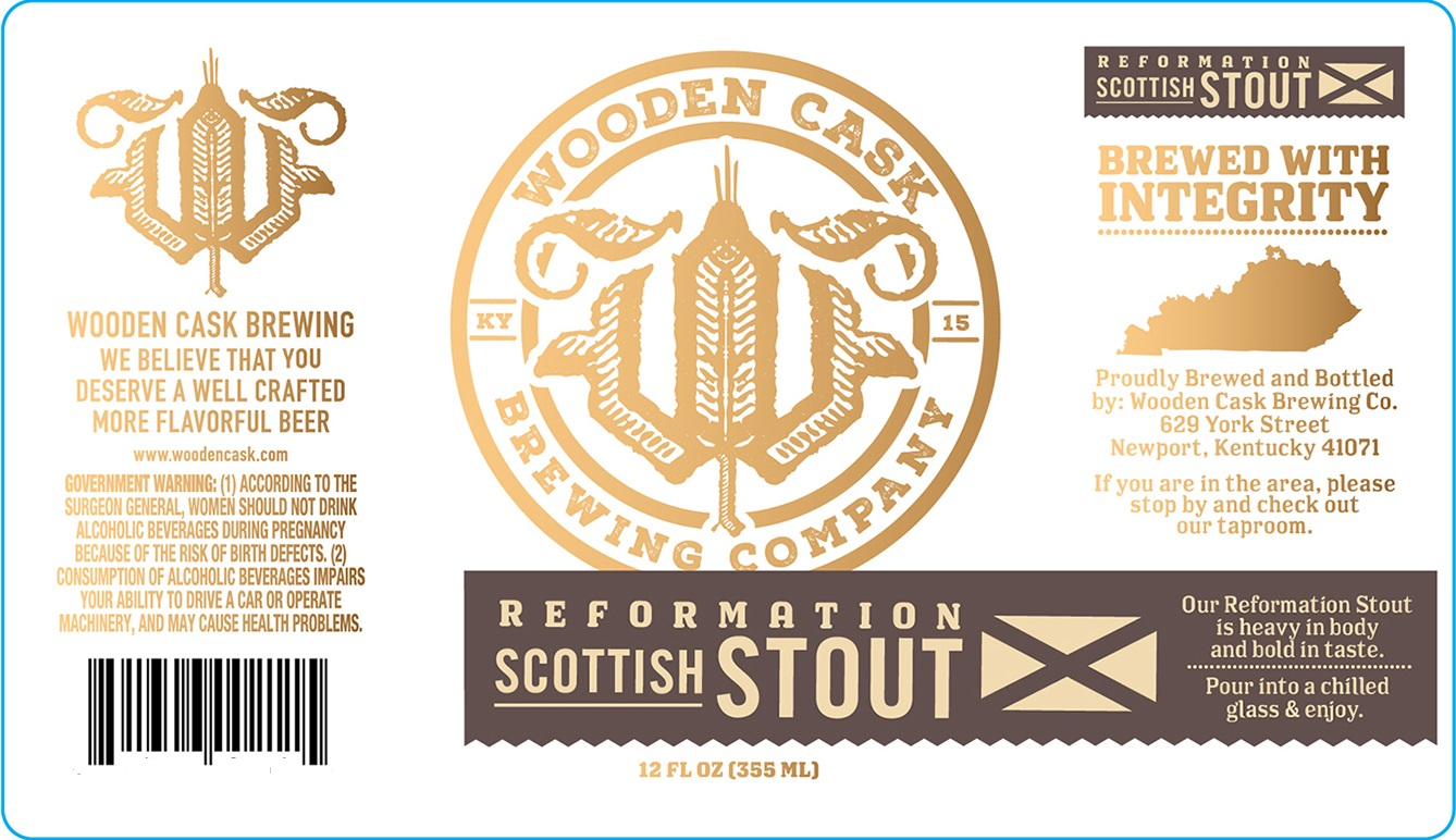 Wooden Cask Bottles Get Label Approval From The Gnarly Gnome