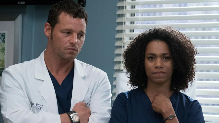 "Grey's Anatomy 14x04 ""Ain't That a Kick in the Head"""