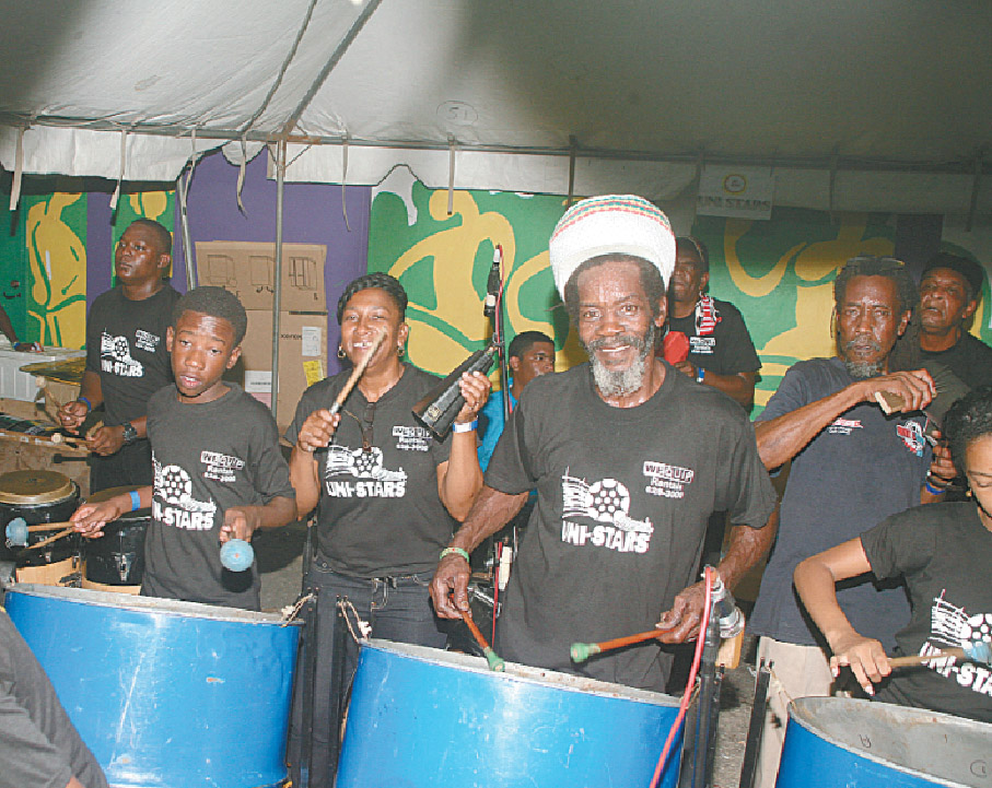 Trinidad Invaders Pan Yard