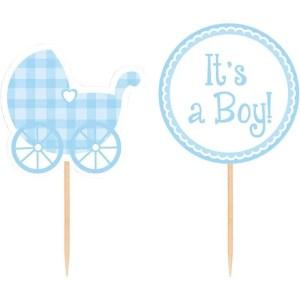 Cupcake Sticks Baby Boy