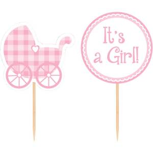 Cupcake Sticks Baby Girl