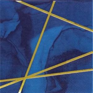 Servilleta Blue Gold
