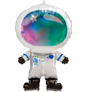Globo Mylar Astronauta Irisdicente Gigante