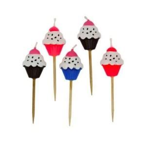 Velas de Cupcakes