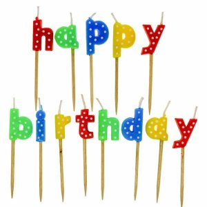 Velas Happy Birthday