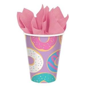 Vasos de Carton de Donut Lila