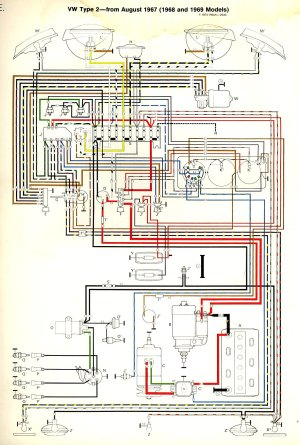 196869 Bus Wiring diagram | TheGoldenBug