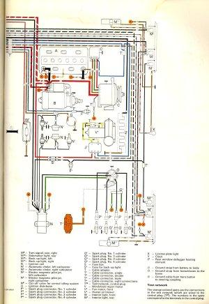 1972 Bus Wiring diagram | TheGoldenBug