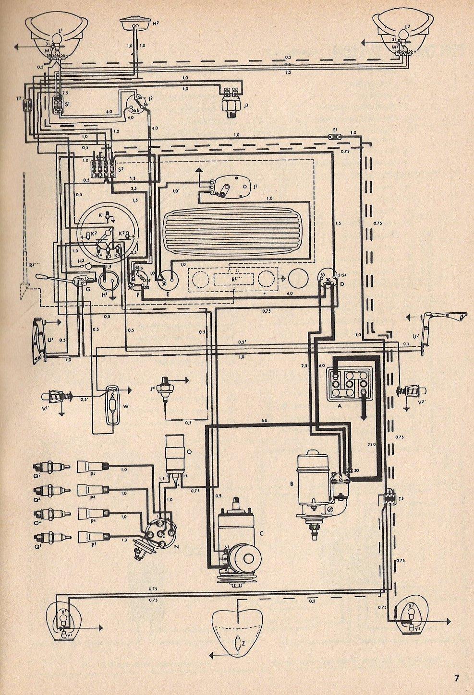 vw bus wiring diagram cancigs com 1964 Vw Bug Wiring Diagram vw wiring diagrams wiring diagram 1964 vw bug wiring diagram
