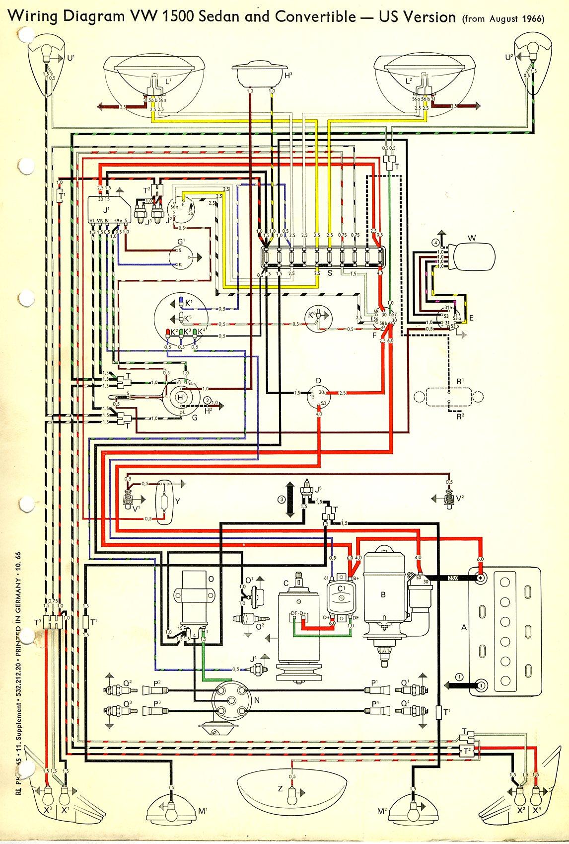 Beetle Wiring Diagram Usa