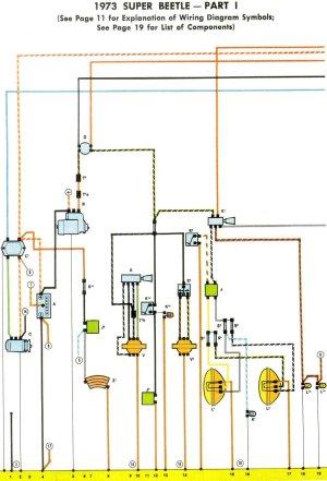 1973 Super Beetle Wiring Diagram | TheGoldenBug