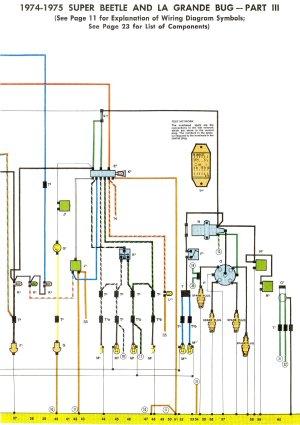 197475 Super Beetle Wiring Diagram | TheGoldenBug