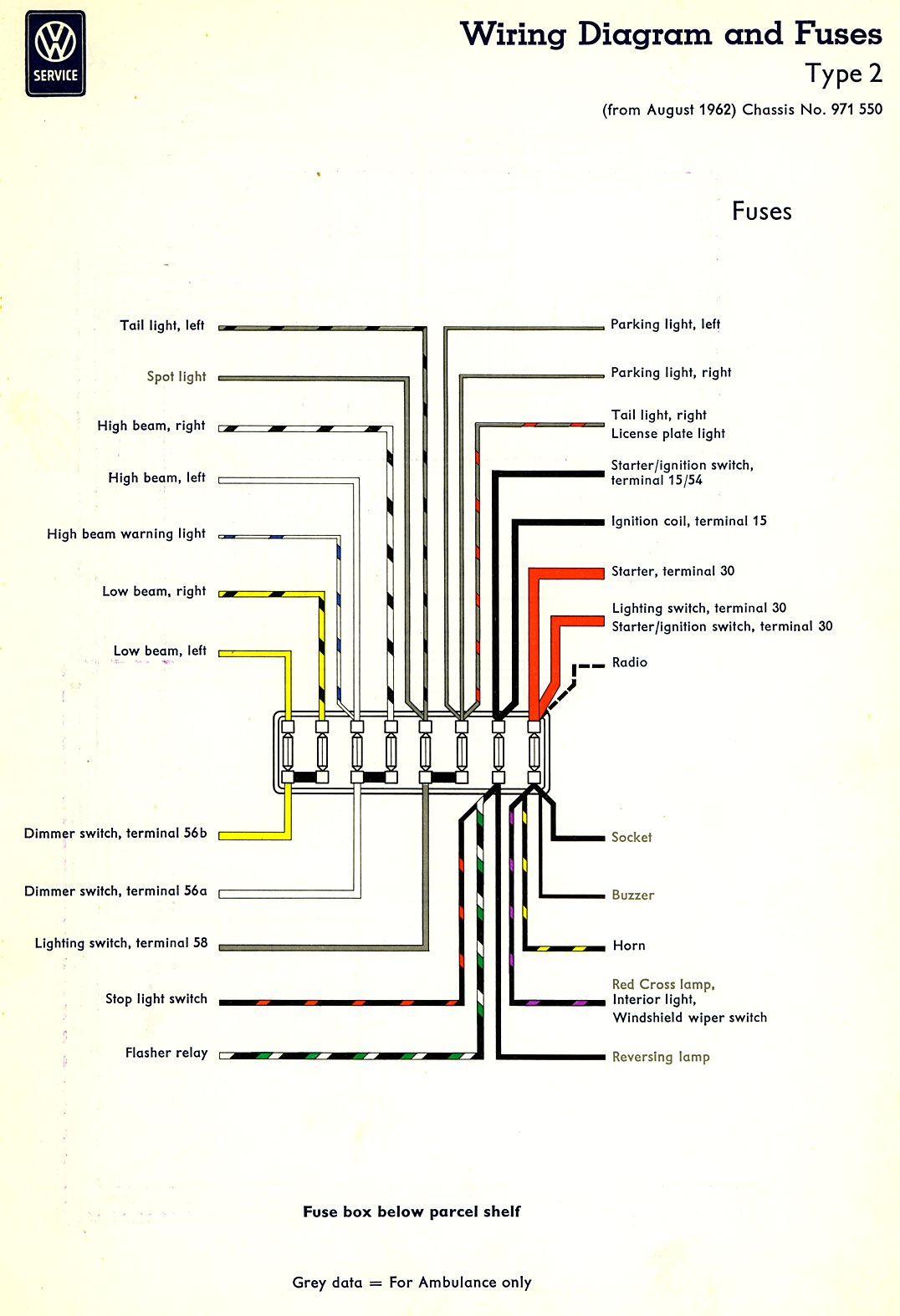 Bus Wiring Diagram Usa