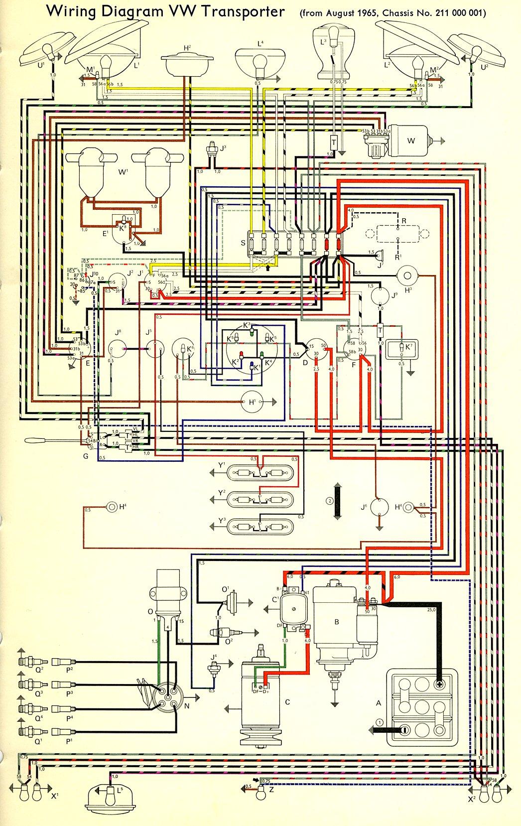 Bus Wiring Diagram