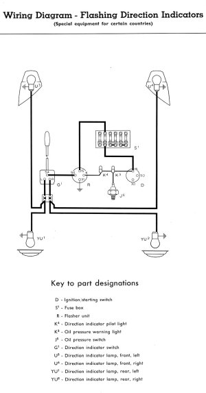 1957 Bus Wiring Diagram | TheGoldenBug