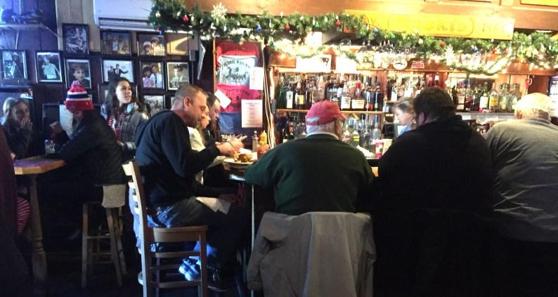 Breakfast/brunch at the bar