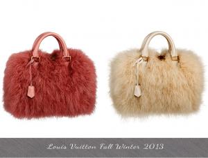 Tendencia en bolsos para el Otono Invierno 2013 2014 TheGoldenStyle The Golden Style Louis-Vuitton-Fall-Winter-2013-Feather-Speedy