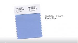 Placid Blue Tendencias de color Primavera Verano 2014 Hombre TheGoldenStyle