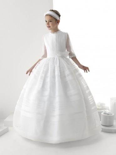 Tendencias de vestidos primera comunión 2014 TheGoldenStyle ROSA-CLARA-VESTIDOS-COMUNIÓN-2014-4